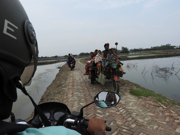 Bike Ride Through Bengali Villages