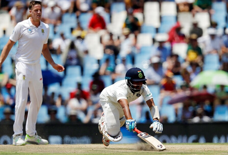 Cheteshwar Pujara Sets Unwanted Record in Centurion Test