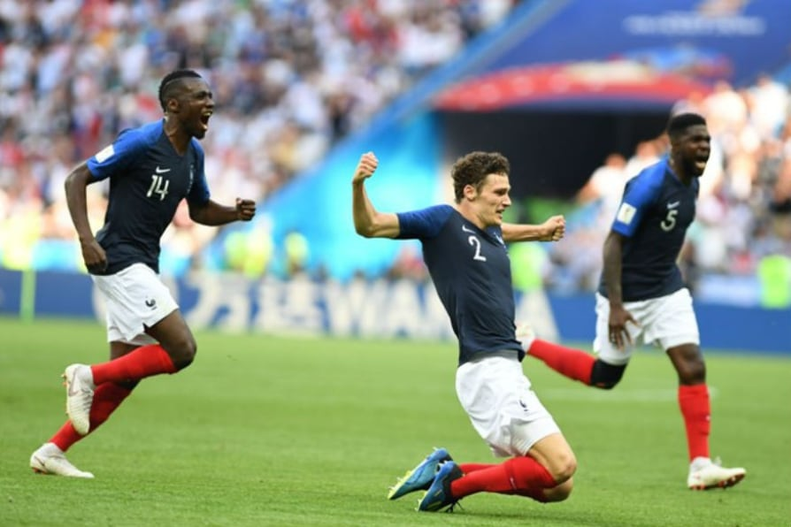 france's benjamin pavard wins world cup goal of the tournament