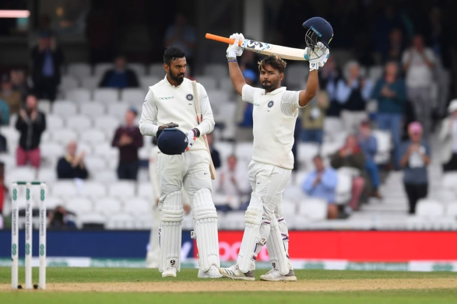 rishabh pant hits maiden test hundred breaks ms dhoni's record