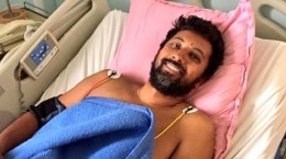commander abhilash tomy reaches visakhapatnam shifted to inhs kalyani