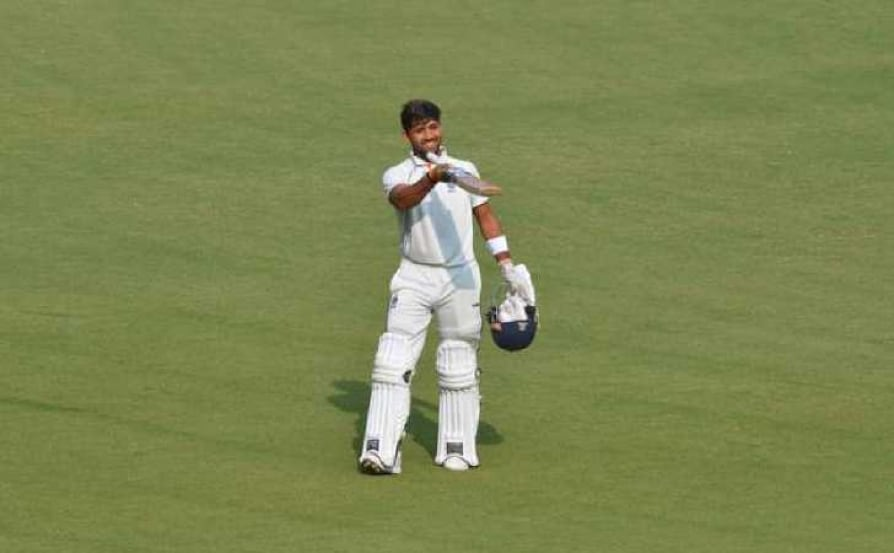 ranji trophy ajay rohera hits 267 on first class debut breaks 25 year old world record