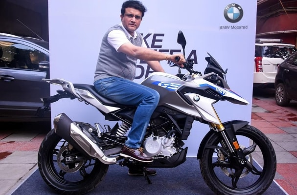 Sourav Ganguly BMW G 310 GS