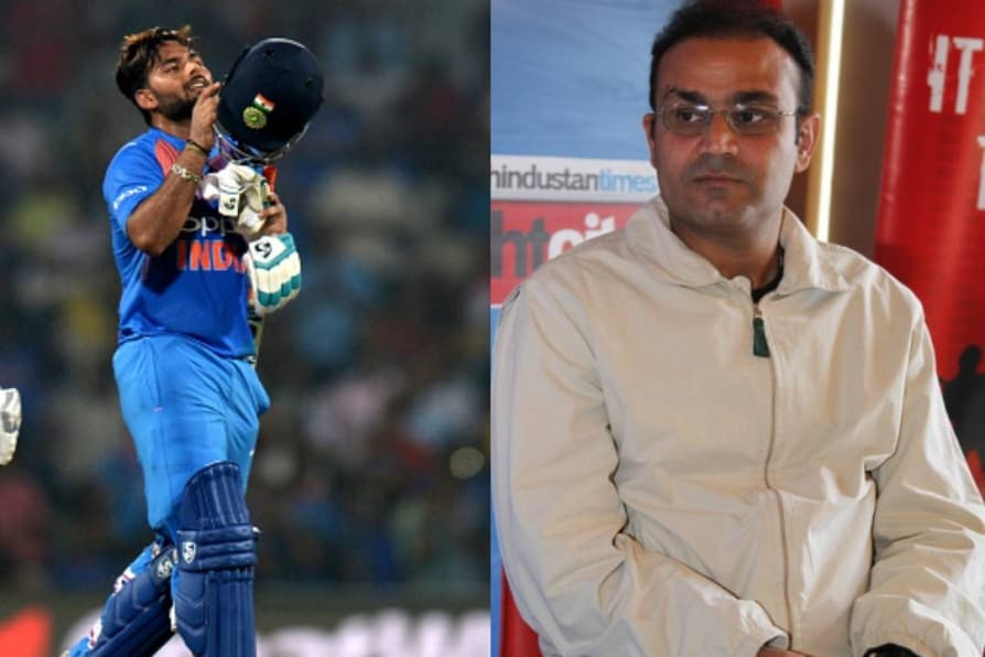 rishabh pant calls virender sehwag an inspiration in cricket and babysitting