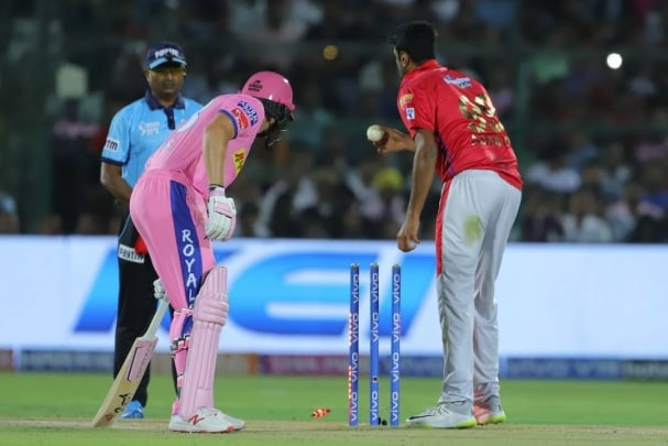 viral jos buttler refuses ravichandran ashwin s handshake after mankad controversy