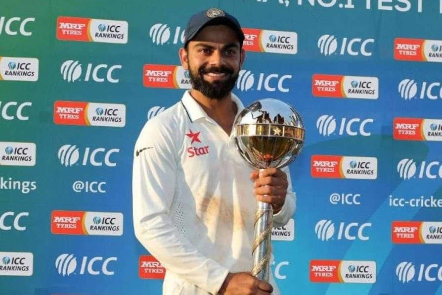 icc test championship india retain number one spot for third year in a row