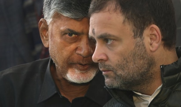 chandrabbau naidui and rahul gandhi