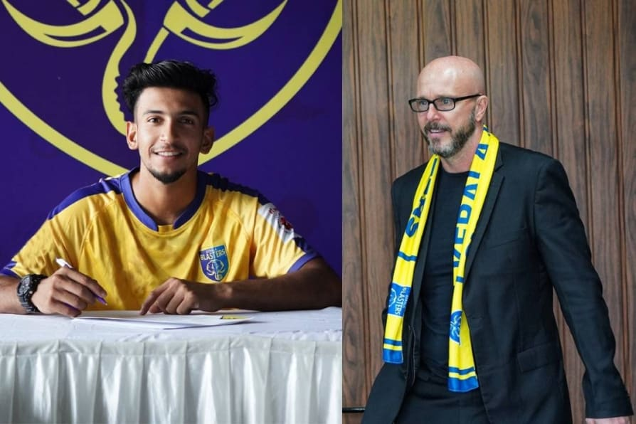 new Kerala Blasters head coach talks about sahal abdul samad