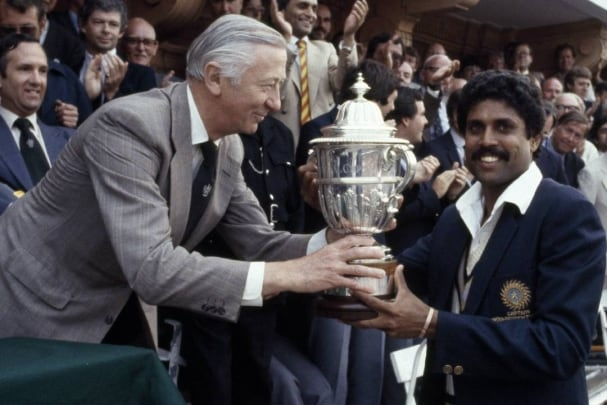 icc cricket world cup history records 1983 world cup kapil dev