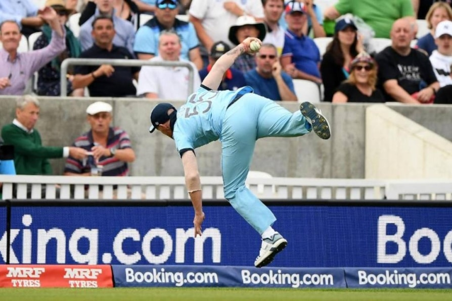 world cup 2019 ben stokes takes spectacular catch