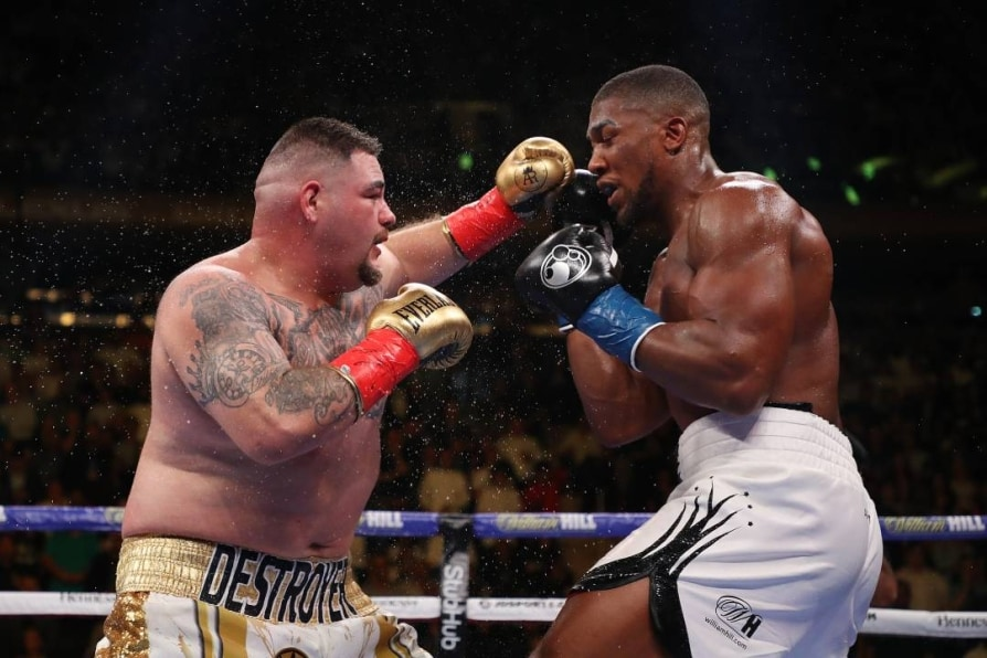 Anthony Joshua sensationally beaten by Andy Ruiz