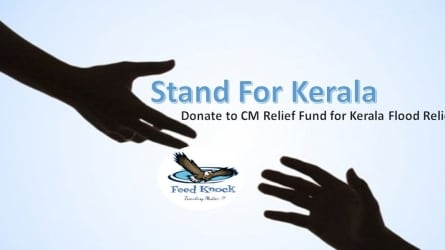 Man arrested for fake Facebook post against flood relief fund Kerala Chief Minister