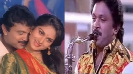 Duet movie songs saxophone by Kadri gopalnath Anjali Anjali AR Rahman Indian classical music