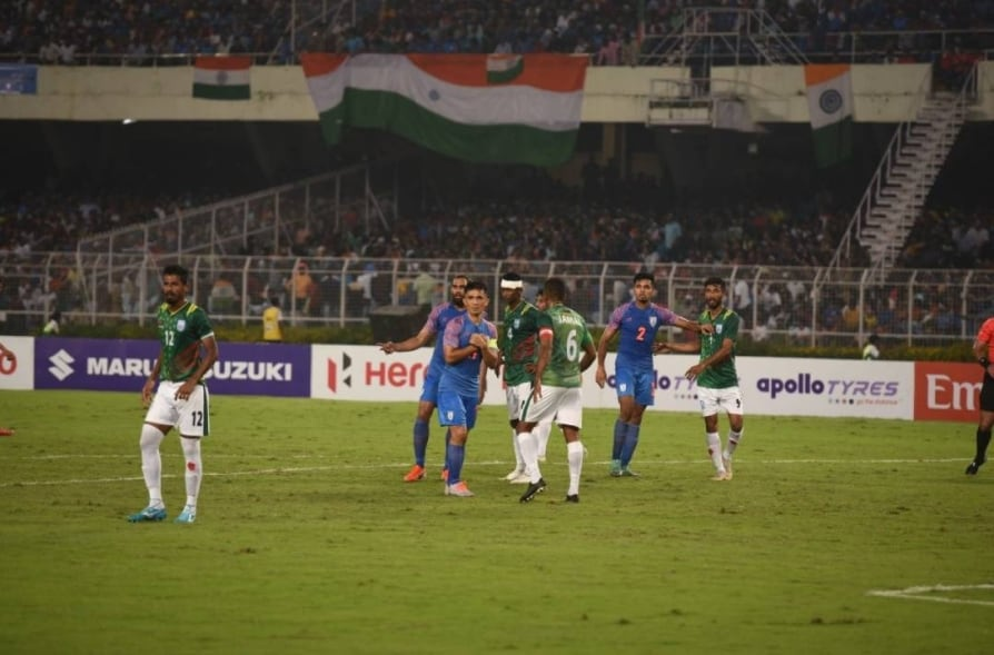 India vs Bangladesh FIFA World Cup 2022 Qualifier match