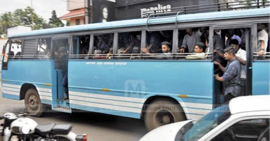 Private bus ride in Mavelikkara fear of death