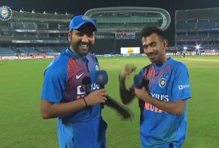 Rohit and Chahal