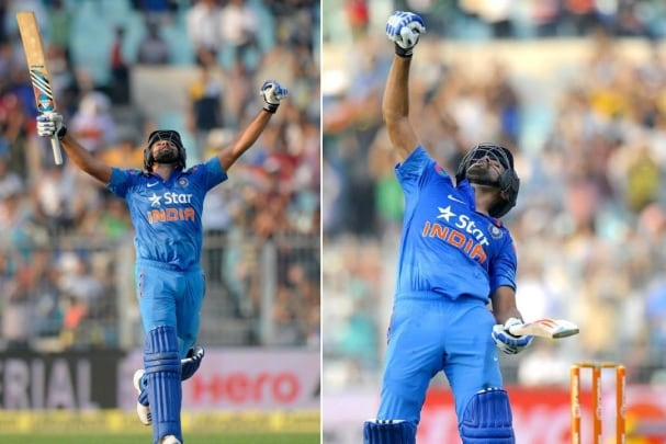 33 fours, 9 sixes, 264 runs 5 years of Rohit Sharma's record innings