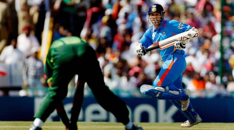 nine years of India and arch-rivals Pakistan 2011 World Cup semi final clash