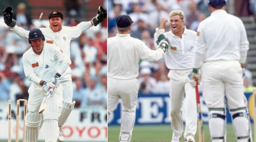 how ball of the century changed his life Shane Warne describes
