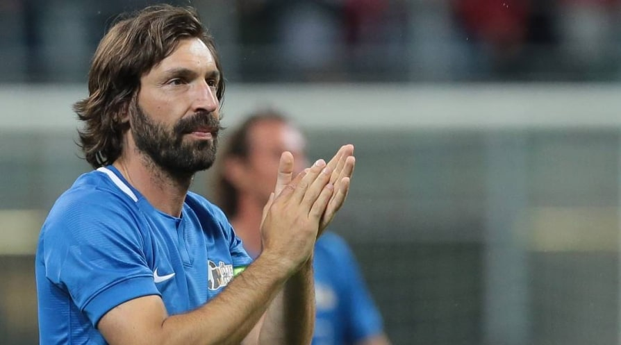 Juventus hired ex club player Andrea Pirlo to replace fired Sarri