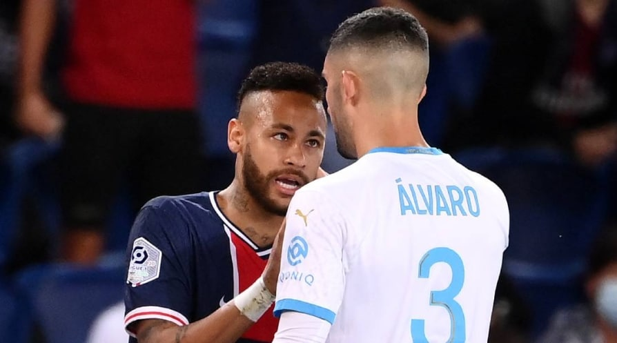 PSG Marseille brawl Neymar banned for two games LFP investigates racism allegations