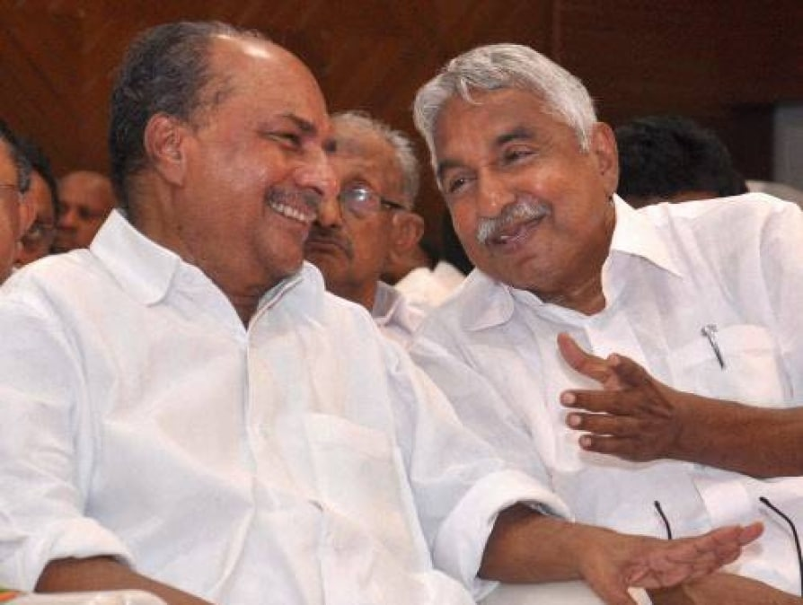 Oommen chandy and a.k antony