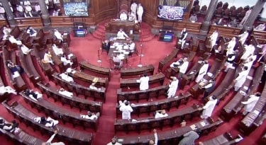 Eight members of the House are suspended for a week-rajya Sabha Chaos On Farm Bills
