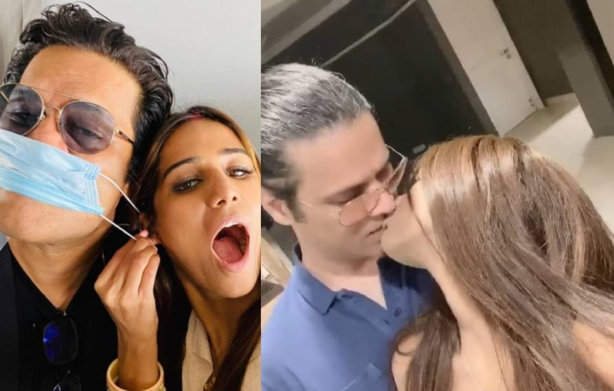 Poonam Pandey reunite with Sam Bombay after sexual allegation police complaint