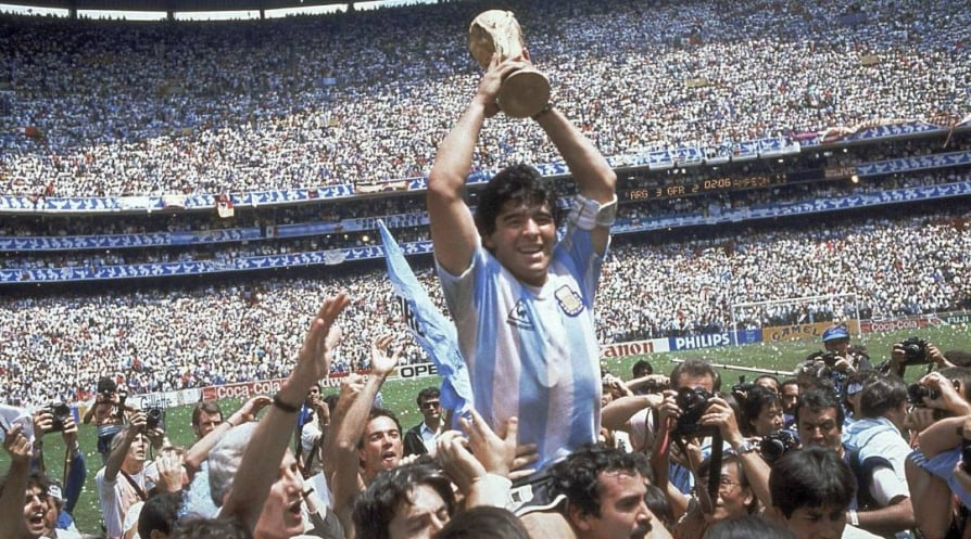 Diego Maradona ball was the lifeblood for him, and everything he thirsted for was goals