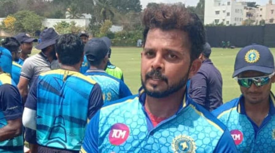 Sreesanth picks up first five-wicket haul after 15 years in Vijay Hazare Trophy