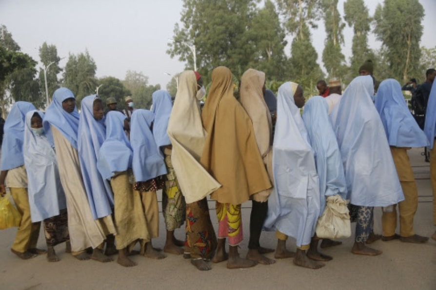 Nigeria Kidnappers free all abducted schoolgirls