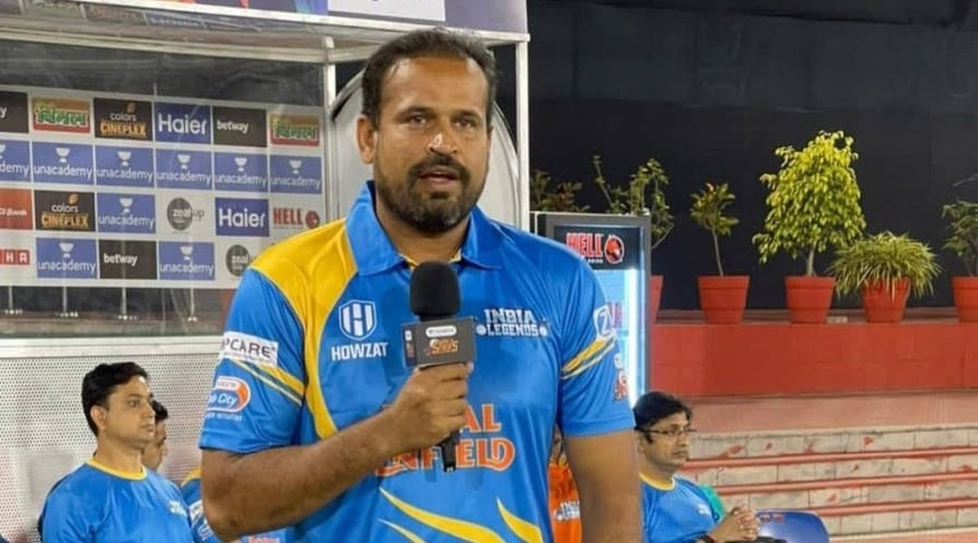 Former India cricketer Yusuf Pathan tests positive for Covid-19
